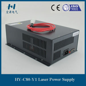 80W dB9 Pin CO2 Laser Power Supply for Yueming Laser Equipment