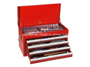 Hot Sale-4 Drawer Combination Hand Tools in Metail Case pictures & photos