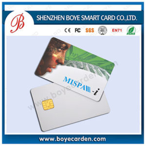 Sle4442/Sle4428/Sle5528 Contact IC Smart Card for Hotel Access Control pictures & photos