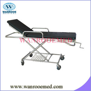Ea-4b Stainless Steel Emergency Bed for Patient pictures & photos
