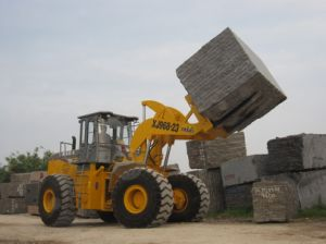 Xiajin Fork Lift Truck Used in Quarry 23tons Block pictures & photos