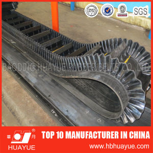 90 Degree Corrugated Sidewall Skirt Conveyor Belt pictures & photos