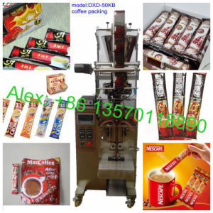Stick Shape 3in1 Coffee Packaging Machine (40bags/min; PLC control;) pictures & photos