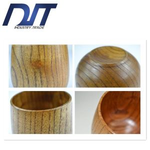 Custom Logo Chinese Exquisite Classic Kung Fu Wood Tea Cup pictures & photos
