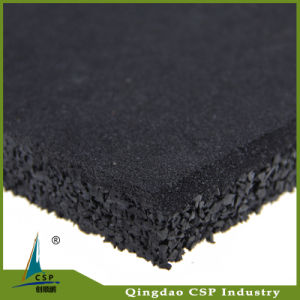 Recycled Granules Gym Rubber Flooring on Sales pictures & photos