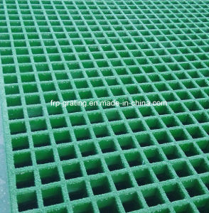 Thickness 25mm FRP Grating with Open Mesh