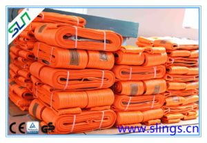 2t X 8m Double Eye Webbing Sling Safety Factor 6: 1 pictures & photos
