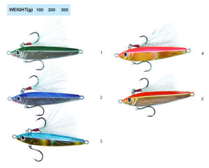 Deer Feather Jig Lure Fishing Lure Lead Lure pictures & photos