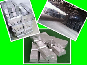 Factory! Primary/Remelted/Refined Pure Lead Ingot 99.994% pictures & photos