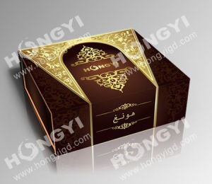 Cardboard/MDF+Glossy/Matt Gift Perfume Paper Box (HYP015) pictures & photos
