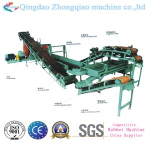 Rubber Recycling Production Machine Waste Tyre Recycling Machine