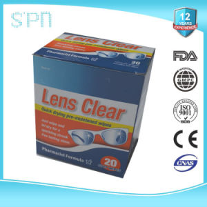 China Manufacturer Individually Wrapped Sachet Screen Cleaning Wet Wipes pictures & photos