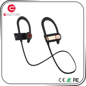 Newest Design Bluetooth Waterproof and Sweatproof Earphones with Noise Reduction