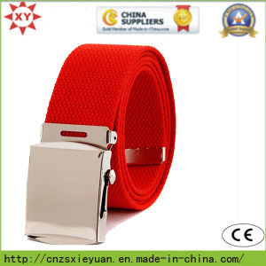 Fashional Unisex Fabric Woven Belt (XY141024006) pictures & photos