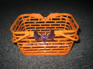 Halloween Plastic Pumpkin Baskets (HW010) pictures & photos