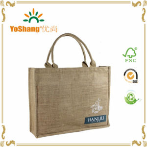 Custom Eco Friendly Jute Bag Customized Shopping Bag Promotional Tote Bags pictures & photos