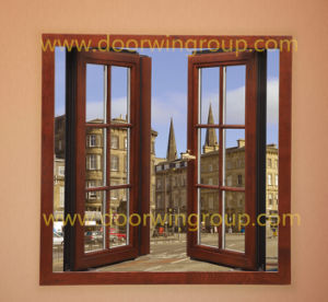 Most Popular Wood Aluminium Windows, Window with Full Divided Light Grille From Chinese Manufacturer pictures & photos