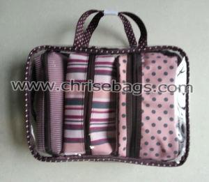 PVC & Polyester Sets Make up Gift Handbag pictures & photos