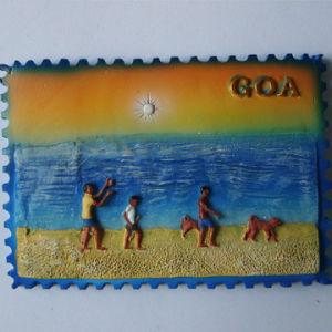 Custom Polyresin Fridge Magnet Tourist Souvenir Magnet for Sale pictures & photos
