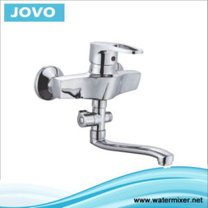 Single Handle Wall-Mounted Kitchen Faucet Jv70903 pictures & photos