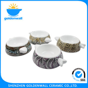Customized Logo Porcelain 250ml Cat Bowl pictures & photos