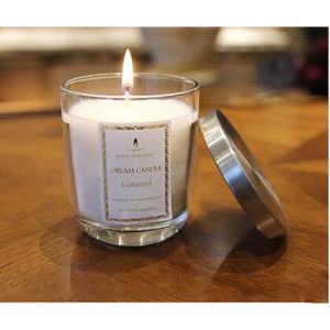 Calm Luxury Glass Candle with Metal Lid