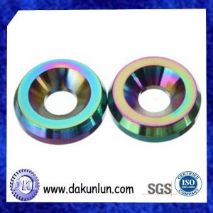 CNC Machining Aluminum Anodized Colorful Washer