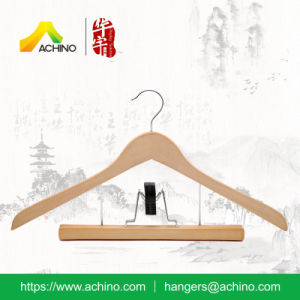 Natural Wooden Multi Hangers with Swivel Hook (WCH200) pictures & photos