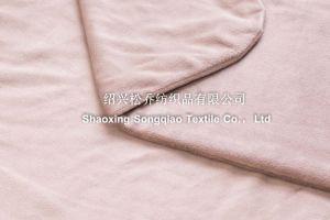 New Design Super Soft Double Milk Velour Blanket pictures & photos