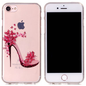 Bulk Phone Cases Clear IMD Design Pattern TPU Case for iPhone 7 pictures & photos
