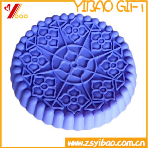 Custom Eco-Friendly FDA/Food Grade Lager Size Silicone Cake Mold/Silicone Bakeware/Kitchen Ware (XY-HR-112) pictures & photos