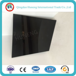 4mm-8mm Black Painted Glass for Decoration pictures & photos
