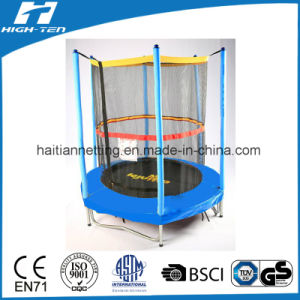 High Quality Colorful Trampoline with Enclosure pictures & photos
