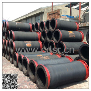 Marine Flanged Suction and Discharge Rubber Dredging Hose