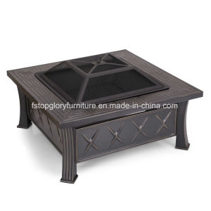 Square New Design Garden Firepit BBQ Grill (TGFT-121) pictures & photos