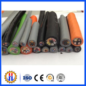 Hoisting Machine and Tower Crane Rubber Cable pictures & photos