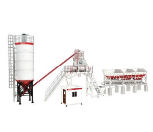 26 Cbm/H Ready Mobile Concrete Batching Plant for Sale on Sale pictures & photos
