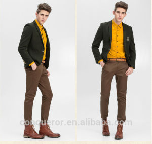2016 New Design Wool Man Suit, Bespoke Suits pictures & photos