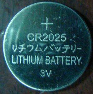 Lithium Button Cells Cr2025 pictures & photos