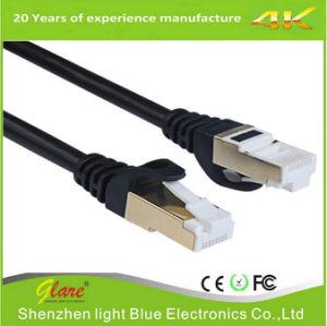 Black Computer LAN Cable CAT6 pictures & photos