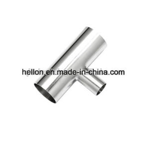 304 or 316 Sanitary Stainless Steel Pipe Fitting Tee pictures & photos