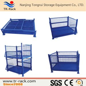 Steel Mesh Storage Container Cage with Full Welding pictures & photos