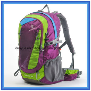 Promotional 35L Nylon Traveling Casual Backpack, Outdoor Hiking Backpack, Multi-Functional Custom Climbing Hunting Backpack