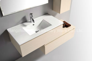 Composite Melamine Bathroom Furniture with Side Vanity in Bathroom pictures & photos