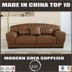 with Coffee Table Classic Leather Sofa Set pictures & photos
