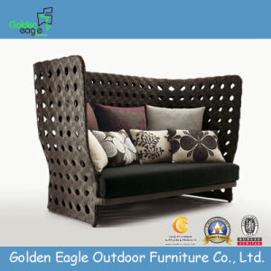Hot Popular Outdoor Rattan Sofa (GP0002L)