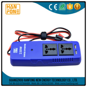 12V to 220V Inverter 150W Car Power Inverter with USB (MTA150) pictures & photos