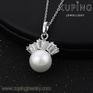 30277 Newest Cubic Zirconia Pearl Jewelry Necklace Pendant on Special Prices pictures & photos