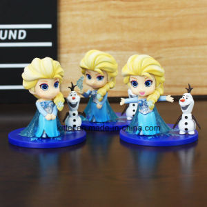 Wholesale Frozen Plastic Figure Decoration