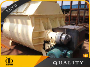 Js1500 Leading Technology Twin-Shaft Concrete Mixer 1500m/H pictures & photos